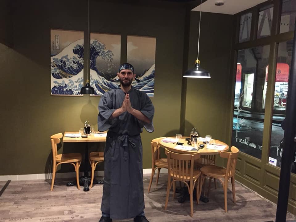 Thibau Samourai Sushis Dijon